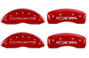 C6 Corvette Z06 MGP Caliper Covers Red