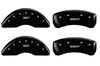 2006-2013 C6 Corvette MGP Caliper Covers Black/Silver