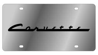 Corvette Nostalgia License Plate