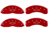 2002-2006 Chevrolet Avalanche 1500 MGP Caliper Covers Red