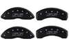 2002-2006 Chevrolet Avalanche 1500 MGP Caliper Covers Black/Silver