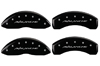 2007-2012 Chevrolet Avalanche MGP Caliper Covers Black/Silver