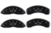 2007-2012 Chevrolet Avalanche MGP Caliper Covers Black