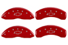 1994-1997 Chevrolet Camaro MGP Caliper Covers Red/Silver