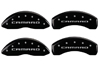 2010-2014 Chevrolet Camaro MGP Caliper Covers Black
