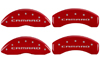 2010-2014 Chevrolet Camaro MGP Caliper Covers Red