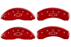 2003-2005 Chevrolet Astro MGP Caliper Covers Red