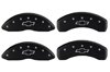 2010-2014 Chevrolet Camaro MGP Caliper Covers Black/Silver