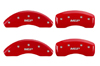 2000-2005 Chevrolet Impala MGP Caliper Covers Red