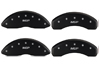 1991-1995 Chevrolet Caprice MGP Caliper Covers Matte Black