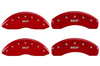 1991-1996 Chevrolet Caprice MGP Caliper Covers Red