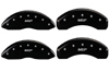 2011-2013 Chevrolet Silverado 2500 HD MGP Caliper Covers Black/Silver