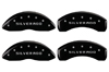 2011-2013 Chevrolet Silverado 2500 HD MGP Caliper Covers Matte Black