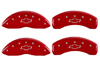 2010-2013 Chevrolet Equinox MGP Caliper Covers Red/Silver