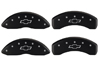 2011-2014 Chevrolet Volt MGP Caliper Covers Black/Silver