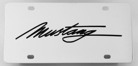 Ford MustangLicense Plate