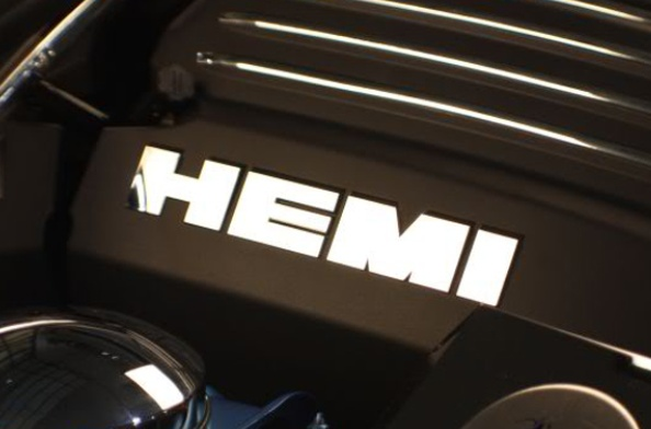 Challenger HEMI Fuel Rail Engine Cover Lettering