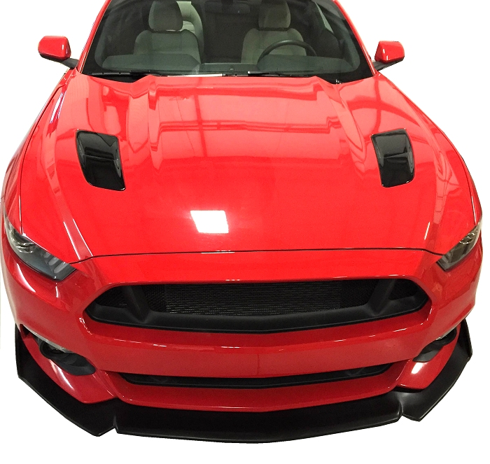 2015-2017 Ford Mustang Painted Vent Heat Extractors Overlays
