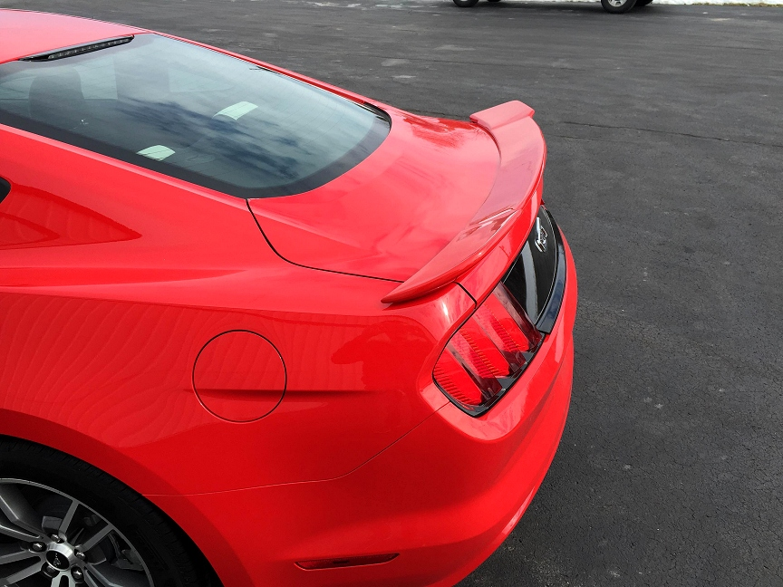 2015-2018 Ford Mustang (Coupe) Painted Stage 1 Rear Spoiler