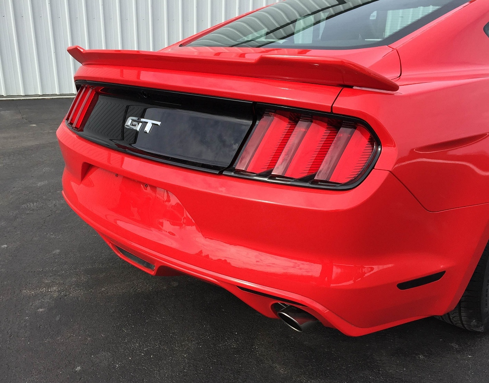 2015 2018 Ford Mustang Painted Rear Spoiler Rpidesigns Com