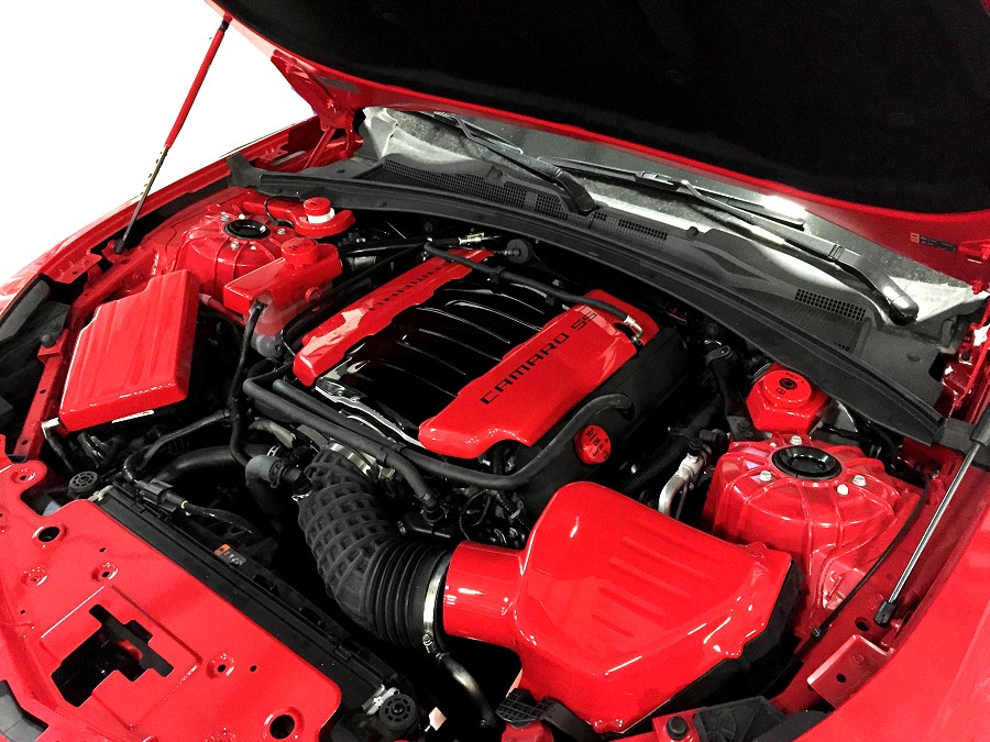 2016-2019 Camaro SS 6th Gen Painted Complete Engine Package