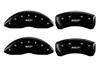 2009-2014 Toyota Venza MGP Caliper Covers Black