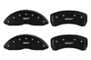 2009-2014 Toyota Venza MGP Caliper Covers Matte Black