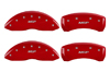 2009-2014 Toyota Venza MGP Caliper Covers Red