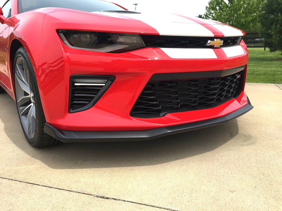 6th Generation Camaro Painted Stage 1 Rear Spoiler and ...
