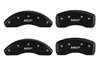 1999-2001 Nissan Maxima MGP Caliper Covers Matte Black
