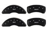 2009-2014 Nissan Maxima MGP Caliper Covers Matte Black