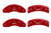1984-1986 Nissan 300ZX MGP Caliper Covers Red