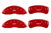 2011-2013 Nissan Juke MGP Caliper Covers Red