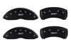 2010-2014 Nissan 370Z MGP Caliper Covers Matte Black