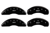 2012-2013 Nissan NV2500 MGP Caliper Covers Matte Black