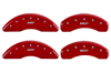 2012-2013 Nissan NV2500 MGP Caliper Covers Red