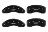 2005-2014 Nissan Frontier MGP Caliper Covers Black