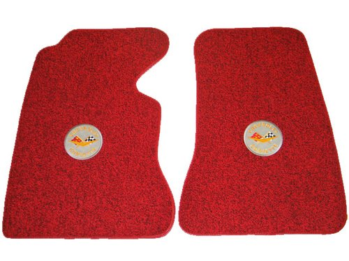 1959 C1 Corvette Floor Mats with Logo Embroidered