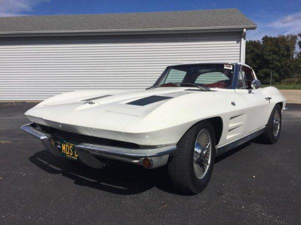 1963-1964 C2 Corvette Knock Off Wheel Set Replica Style - Complete