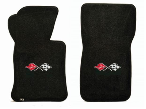 1965 C2 Corvette Floor Mats with Logo Embroidered