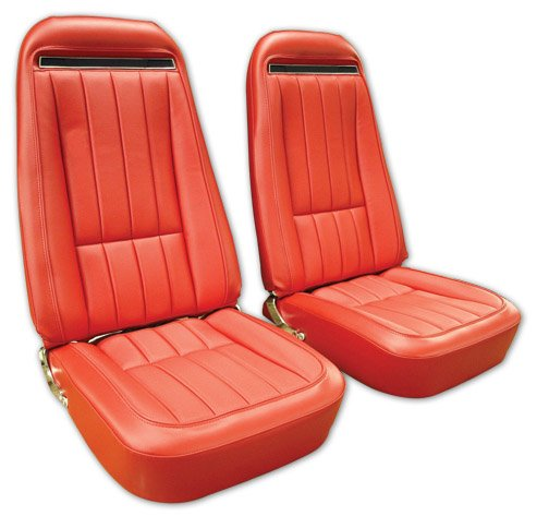 1968-1976 C3 Leather Seat Covers