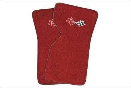 1977 C3 Corvette Floor Mats With Logo Embroidered