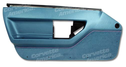 1986-1989 C4 Corvette Door Panel Blue