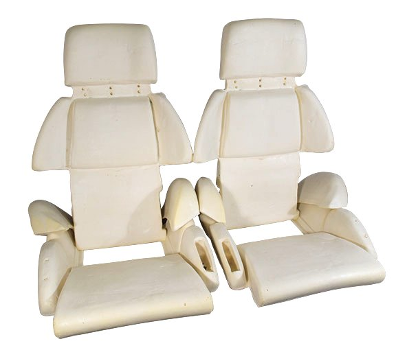 1991 1993 C4 Corvette Sport Seat Foam 8 Piece Set