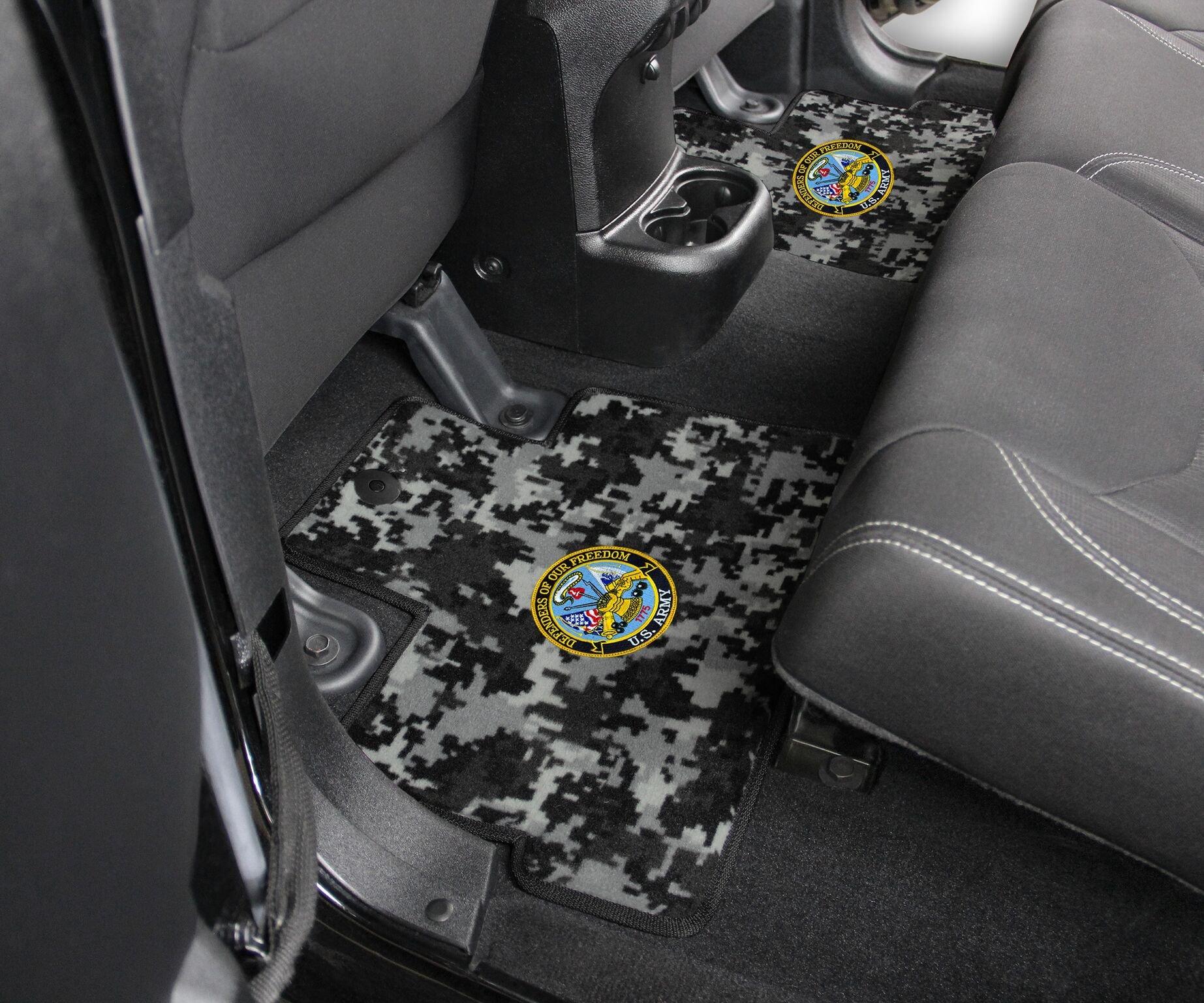1995 2017 toyota tacoma custom camo floor mats. Black Bedroom Furniture Sets. Home Design Ideas