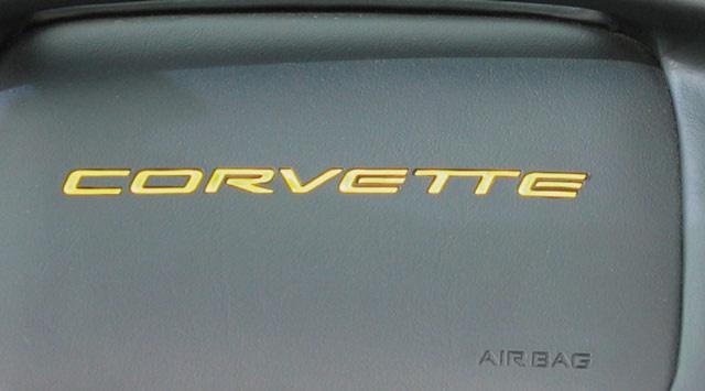 1997-2004 C5 Corvette Dash Letters - Domed Lettering Kit