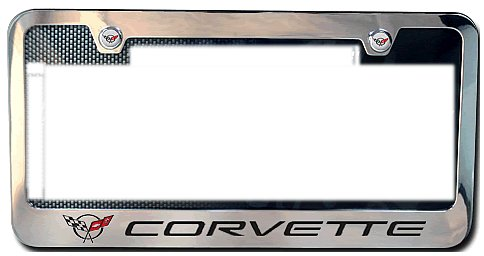 1997-2004 C5 Corvette License Plate Frame