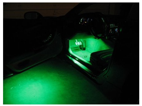 1997-2004 C5 Corvette Footwell And Under Door Puddle Lighting Kit