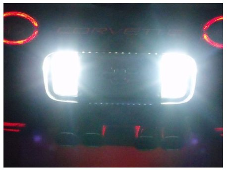 1997-2004 C5 Corvette LED 80 Watt Reverse Lighting Kit