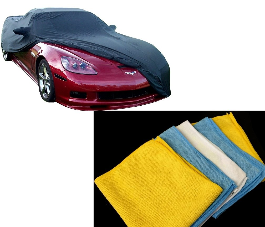 2005-2013 C6 Corvette Car Cover-Indoor Stretch and Towels Package